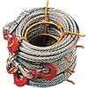 100 ft. Alloy Steel Winch Cable with 8000 lb. Working Load Limit