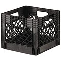 Straight Wall Container, Black, 11