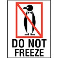 Shipping Labels, Do Not Freeze, 3