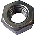 #4-40 Machine Screw Nut, Plain Finish, 18-8 Stainless Steel, Right Hand, ASME B18.2.2, PK100