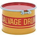 5 gal. Yellow Steel Open Head Salvage Drum