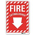Fire Equipment, No Header, Recycled Aluminum, 10