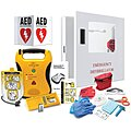Semi-Automatic Lifeline AED Starter Kit with Rx,1 yr. Mgmt. Program, AHA Compliant