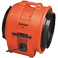 Axial Confined Space Blower, 1 HP, 115VAC Voltage, 3450 rpm Blower/Fan Speed