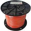 Cable, 3/16 in., 500 ft, 7 x 7, Orange Vinyl