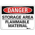 Chemical, Gas or Hazardous Materials, Danger, Recycled Aluminum, 7