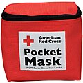 Pocket CPR Mask, Universal, Pouch