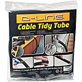 ABS Cable Tidy Tube For Use With D-Line Raceway, Black