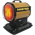 Oil Fired Radiant Heater, 4 gal., 0.50 gph, BtuH Output 80,000, 1750 sq. ft.