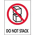 Shipping Labels, Do Not Stack, 3
