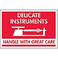 Shipping Labels, Delicate Instr. Handle with Care, 3