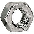 Hex Nut, M10-1.25, Zinc Plated, Steel, Right Hand, 50 PK