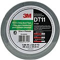 Industrial Duct Tape, 48mm X 60 yd., 11.00 mil Thick, Metallic Cloth, 1 EA