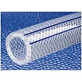 PVC with Wire Helix and Yarn Reinforcement Reinforced Tubing, SAE, 3/4