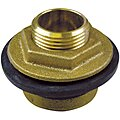 Brass and Rubber Inlet Spud, Brass, For Use With Urinals with 9181814/4
