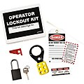 Portable Lockout Kit, Filled, Electrical Lockout, Box, White