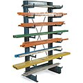 Freestanding Straight Cantilever Rack, No. of Sides: 1, 14 Arms, Arm Length: 12