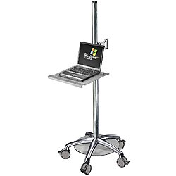 Laptop Laptop Cart,Steel,60 In.