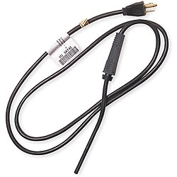 Power Cord,Strain/Relief,6Ft,