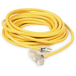 Lighted Extension Cord,100 Ft.,