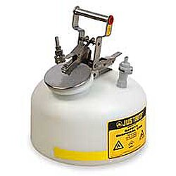 Hplc Safety Can,2 Gal,Translucent