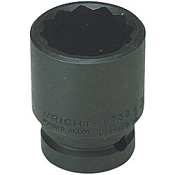 Impact Socket,3/4 In Dr,1-5/16