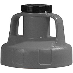 Utility Lid,w/2 In Outlet,Hdpe,
