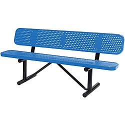 Outdoor Bench,72 In. L,24 In.
