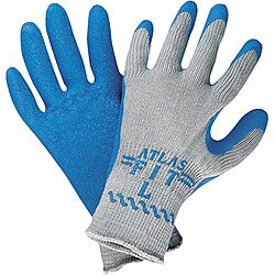 Coated Gloves,Small,Bl/Gry,Pr