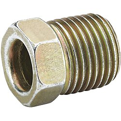 Steel Nut,5/16In,Steel,1200PSI,