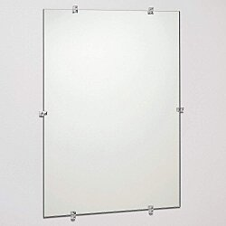 Frameless Mirror,Glass,14x20x1/