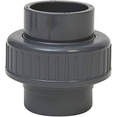 90 Degree Elbow Gray GF Piping Systems PVC Pipe Fitting Schedule 80 1 Slip Socket