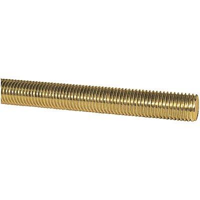 2 Feet Long Brass Threaded Rod 10-24 Thread Size