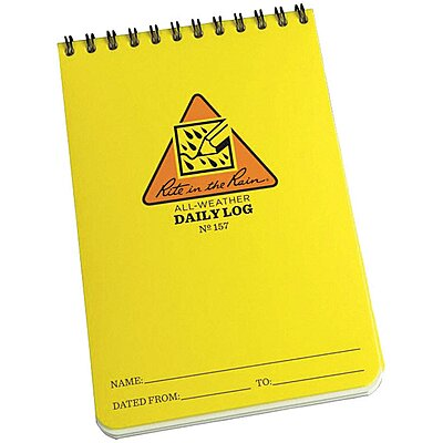 Daily Log Notebook