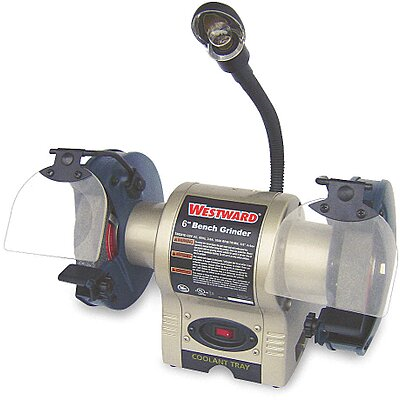 Bench Grinder,6 In,3450 Rpm,
