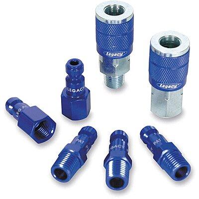 Steel Tru-Flate-Automotive Quick Coupler Plug