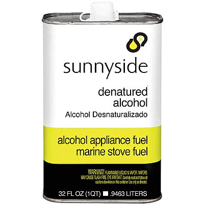 912482-2 Denatured Alcohol Solvent,1 Qt