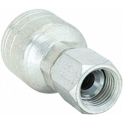 "4 Weatherhead Crimp Hydraulic hose fittings 12U-610 Female JIC 10 x 3//4/"" hose"