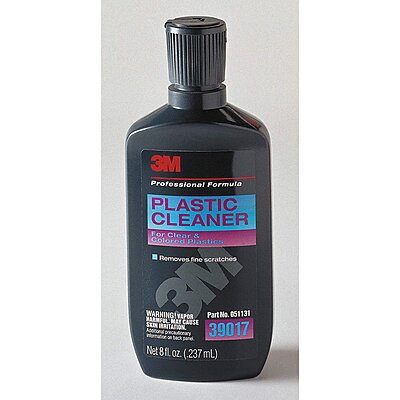 3M Plastic Cleaner,#39017 8oz.