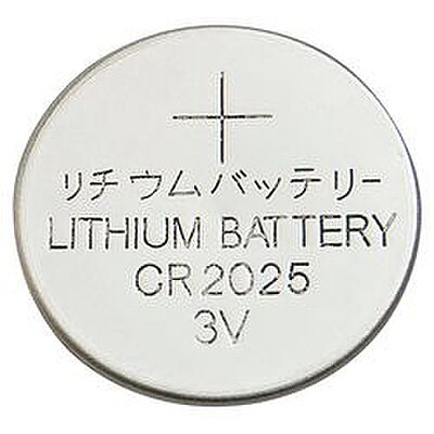 918070 Lithium Coin Cell, Voltage 3, Battery Size 2025, 1 EA