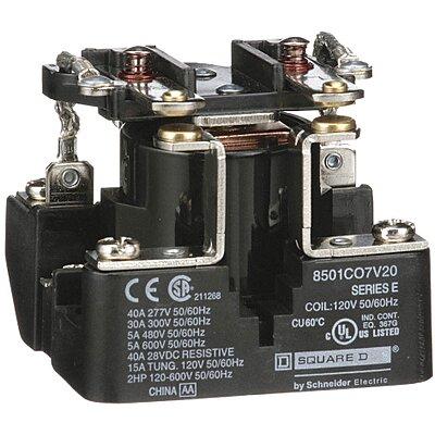 Dpst-No 6Pin 120Vac Enclosed Power Relay