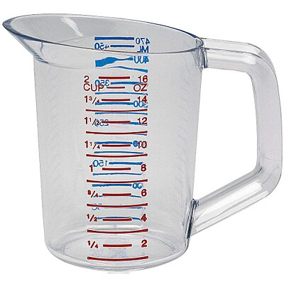 Poly, Measuring Cup, 1 Pint