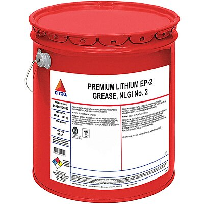 922280-3 Amber Lithium Extreme Pressure Grease, 35 lb , NLGI