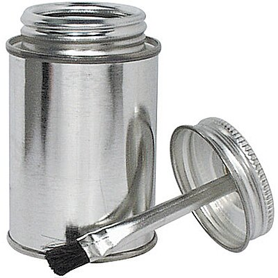 Brush Top Can 4 Oz Empty