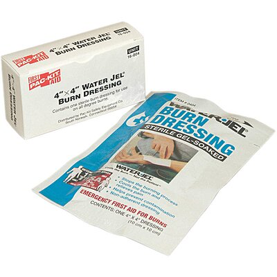 Burn Dressing,Packet,4 In. x 4