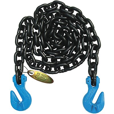 3//8 Grade 100 Tagged Recovery Chain 15Ft