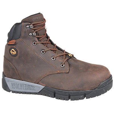 Work Boot,7-1/2,Ew, Brown