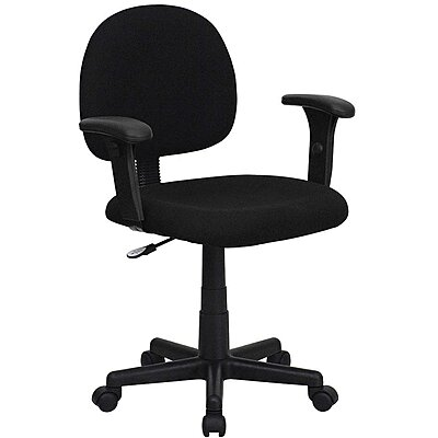 Task Chair,Black Seat,Fabric
