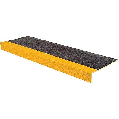 925893 Yellow/Black, Fiberglass Stair Tread Cover, Installation