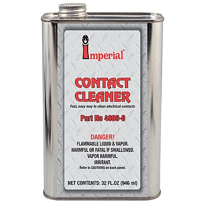 4689 Imperial® Electrical Contact Cleaner, 32 oz , Screw Cap